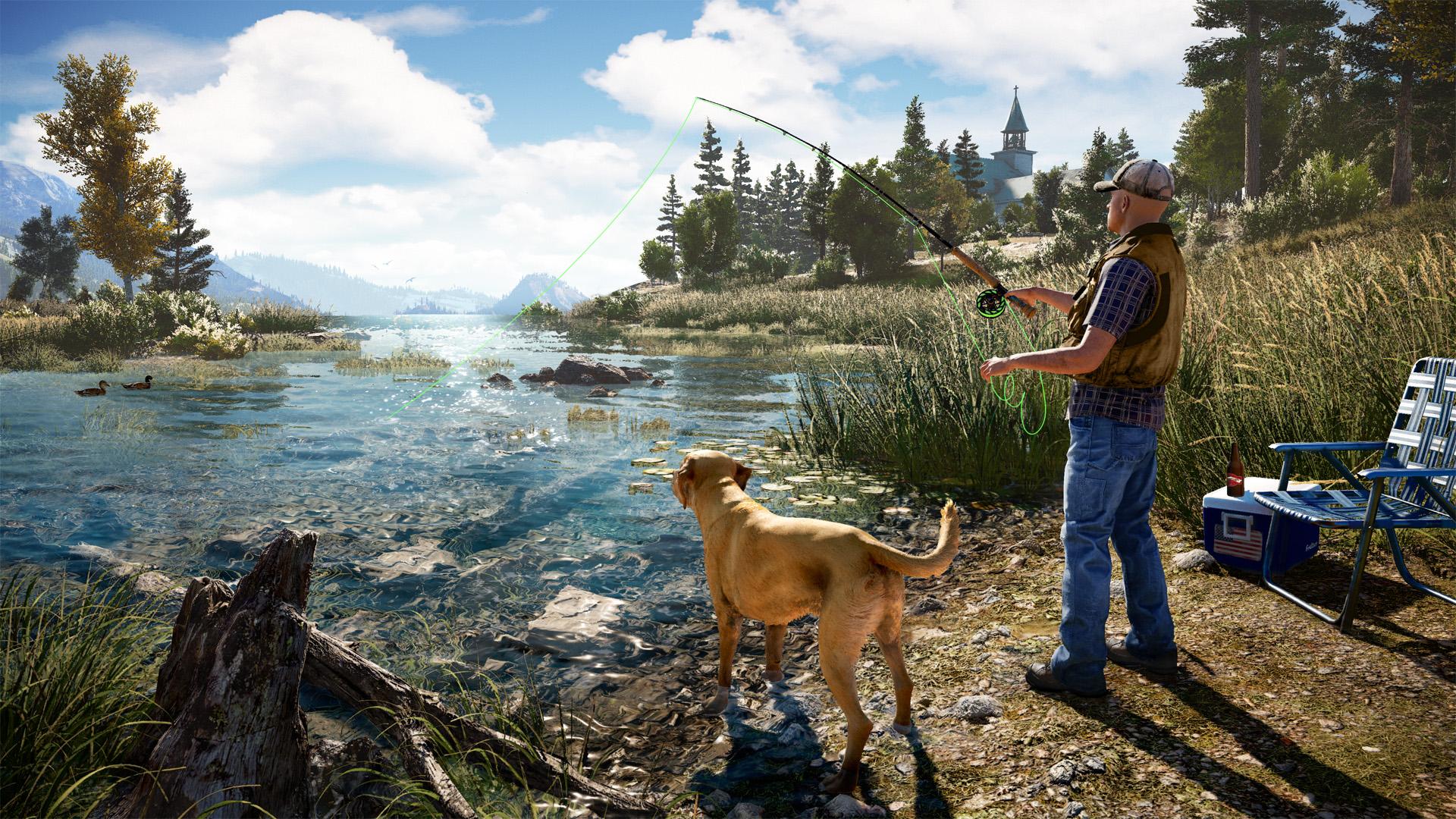 孤岛惊魂5(Far Cry 5)免安装简繁中文绿色版|DLC|升级档|网盘下载