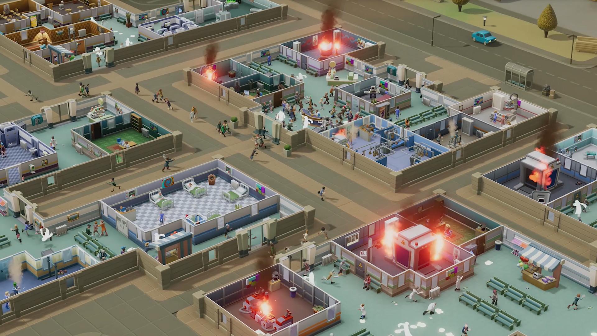 双点医院(Two Point Hospital)免安装绿色中文版|DLC|升级档|网盘下载