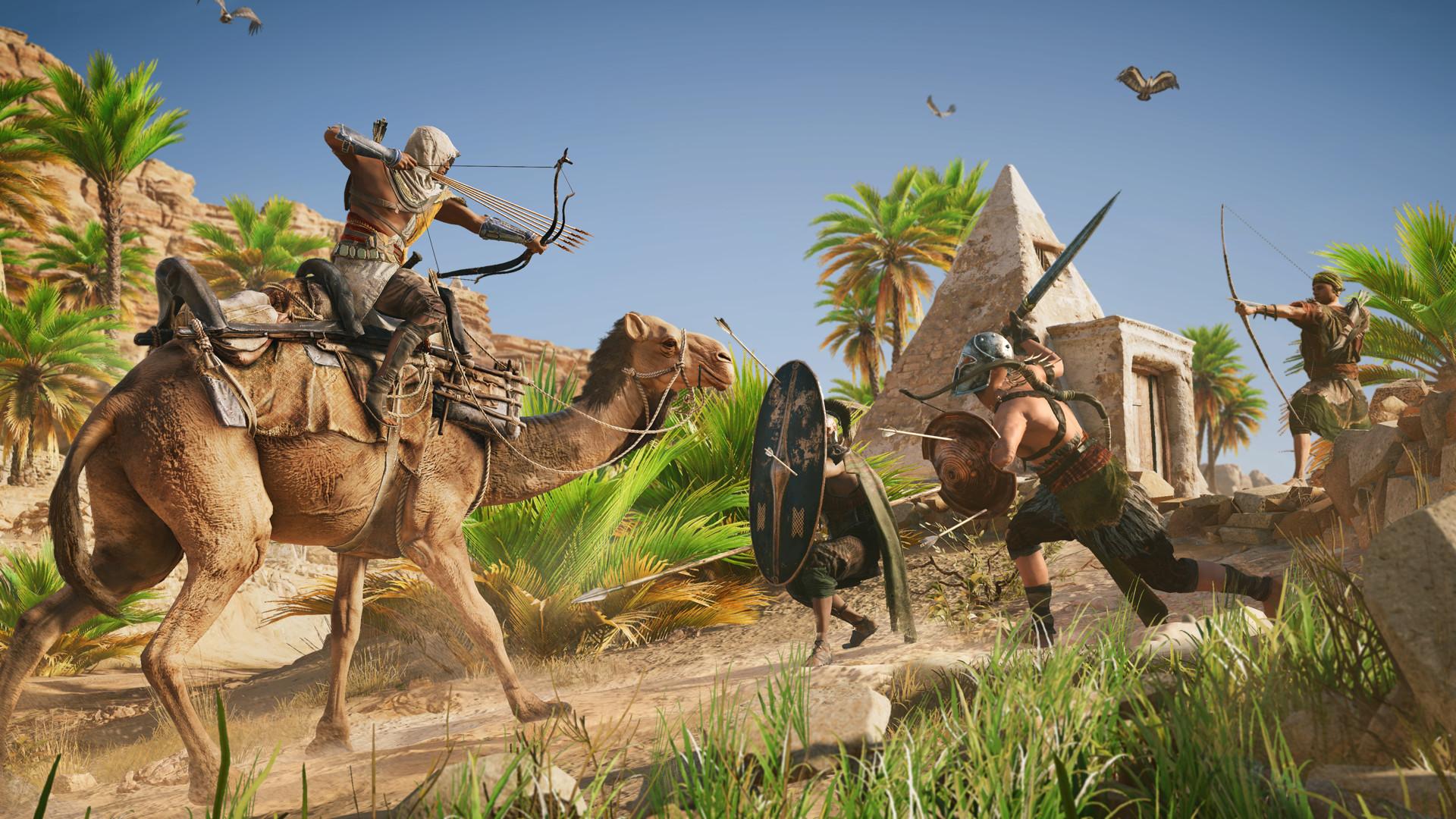 刺客信条:起源(Assassins Creed: Origins)免安装中文绿色版|DLC|升级档|网盘下载