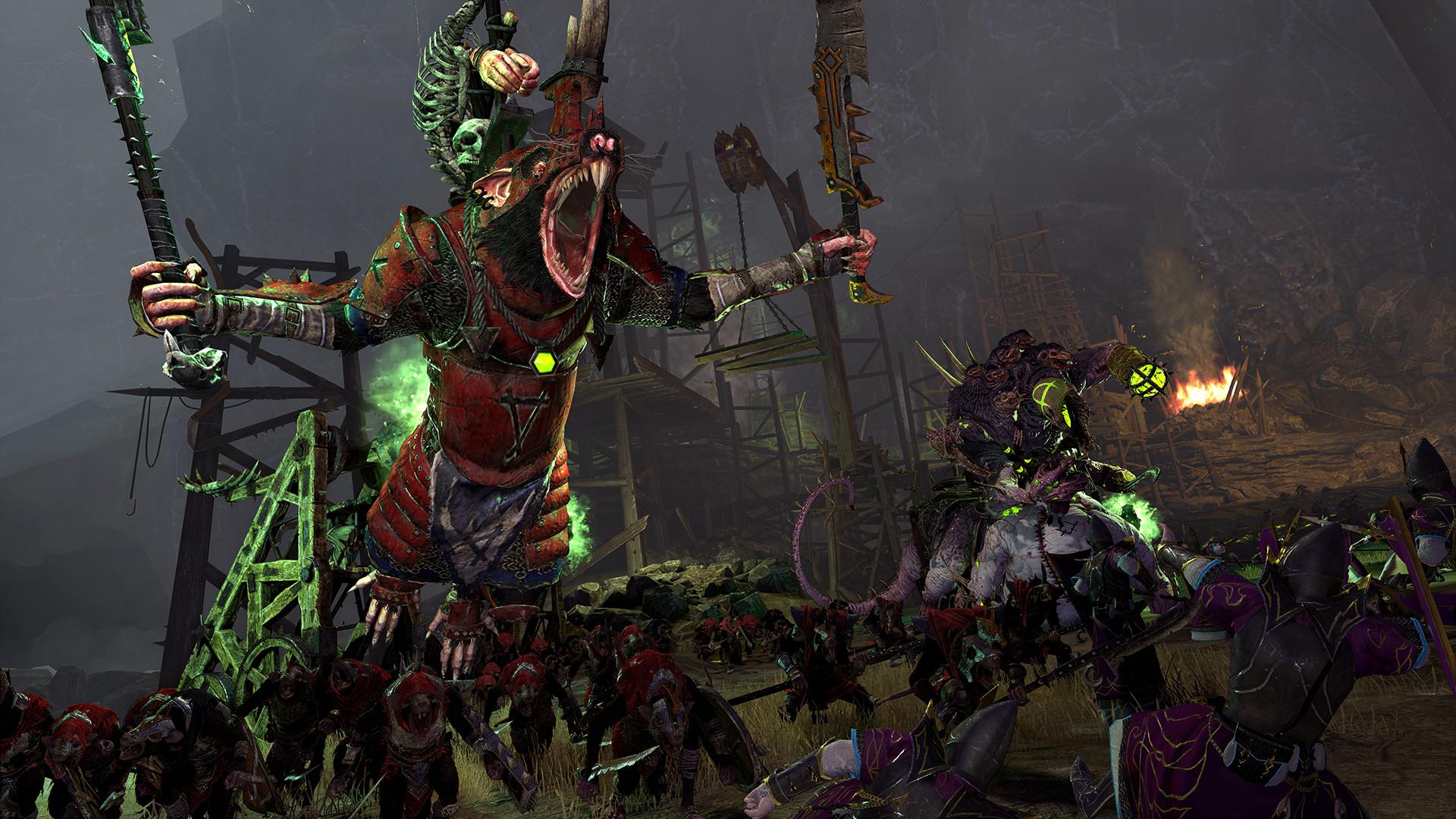 全面战争:战锤2吸血鬼海岸的诅咒(Total War: WARHAMMER 2)免安装中文绿色版|DLC|升级档|网盘下载