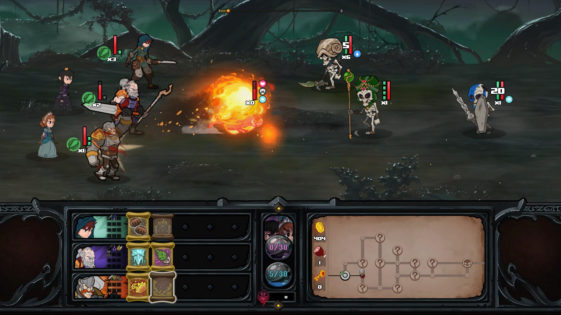 过气英雄(Has-Been Heroes)免安装绿色版|DLC|升级档|网盘下载